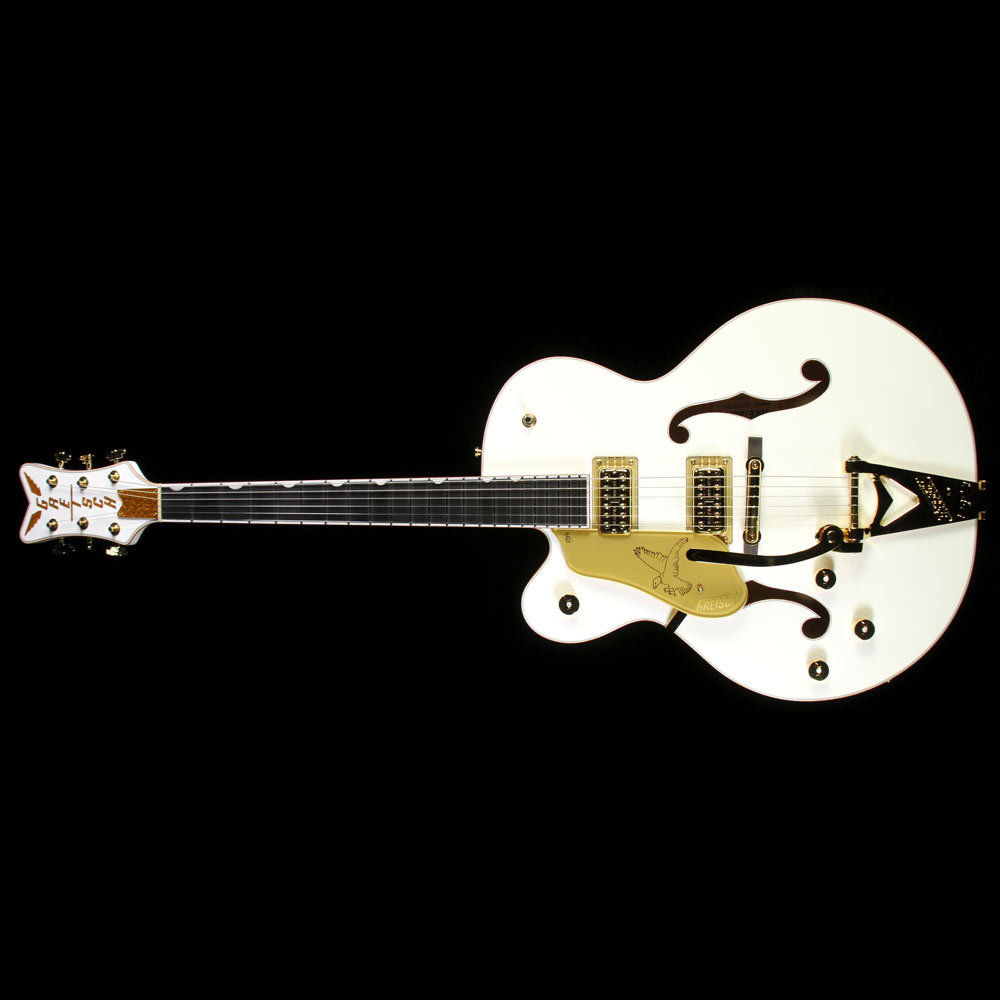 Gretsch G6136T Players Edition White Falcon Left-Handed Electric Guitar White