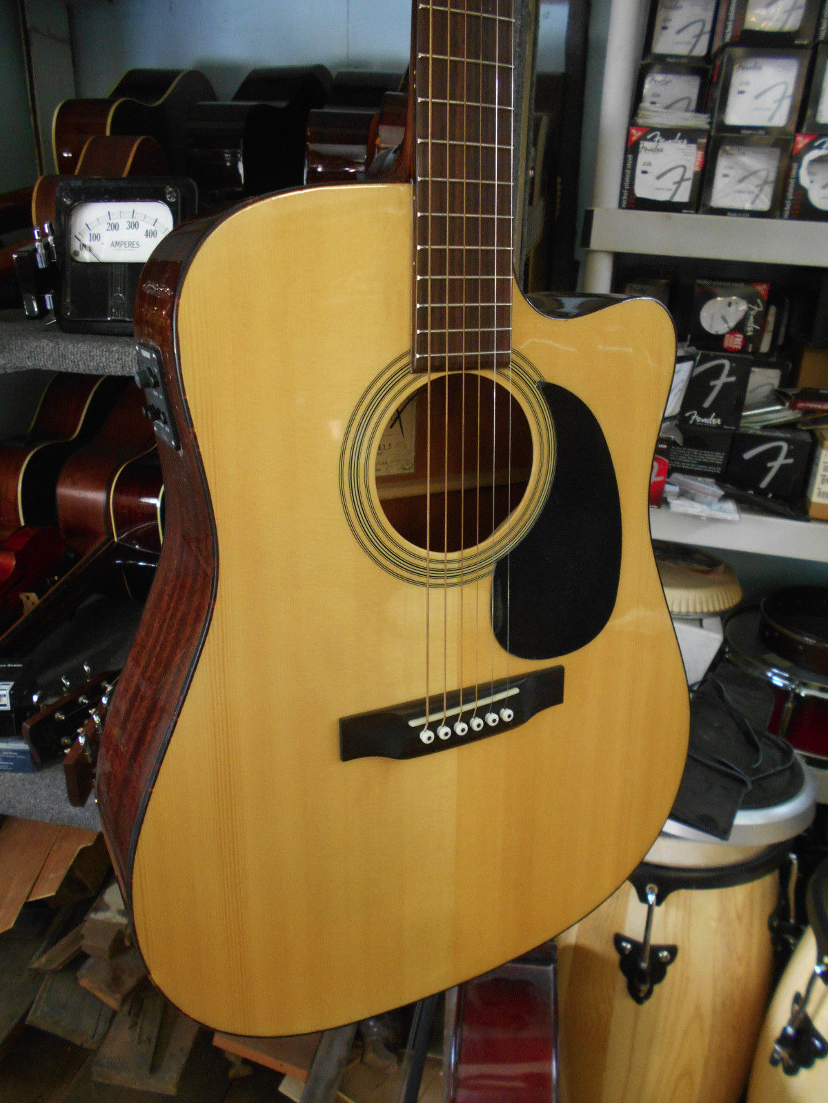 Recording King RD-06-CE Steel String Acoustic Electric Dreadnought Guitar
