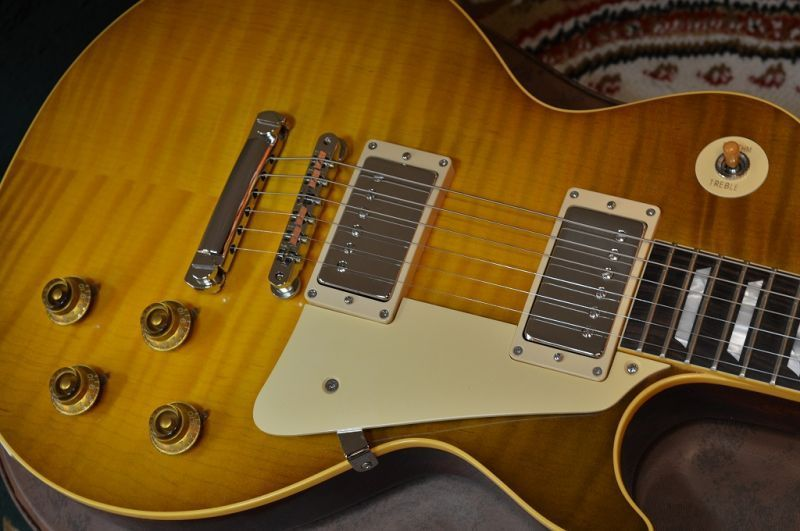 2015 Custom Shop Ace Frehley 1959 Les Paul Guitar Excellect++ W/Hard Case
