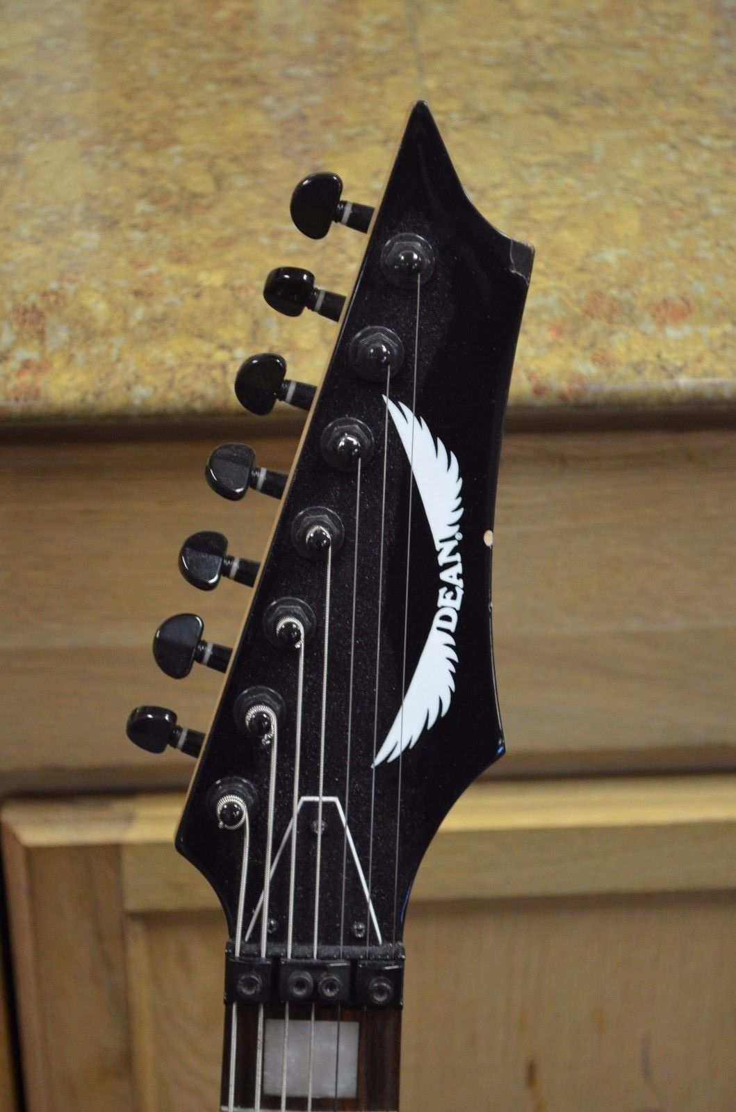 *Dean MAB7X Michael Angelo Batio 7 String Classic Black Electric Guitar