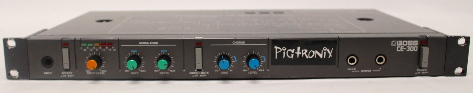 Pigtronix Modified Roland Boss CE – 300 Super Chorus – Rack Guitar Effect