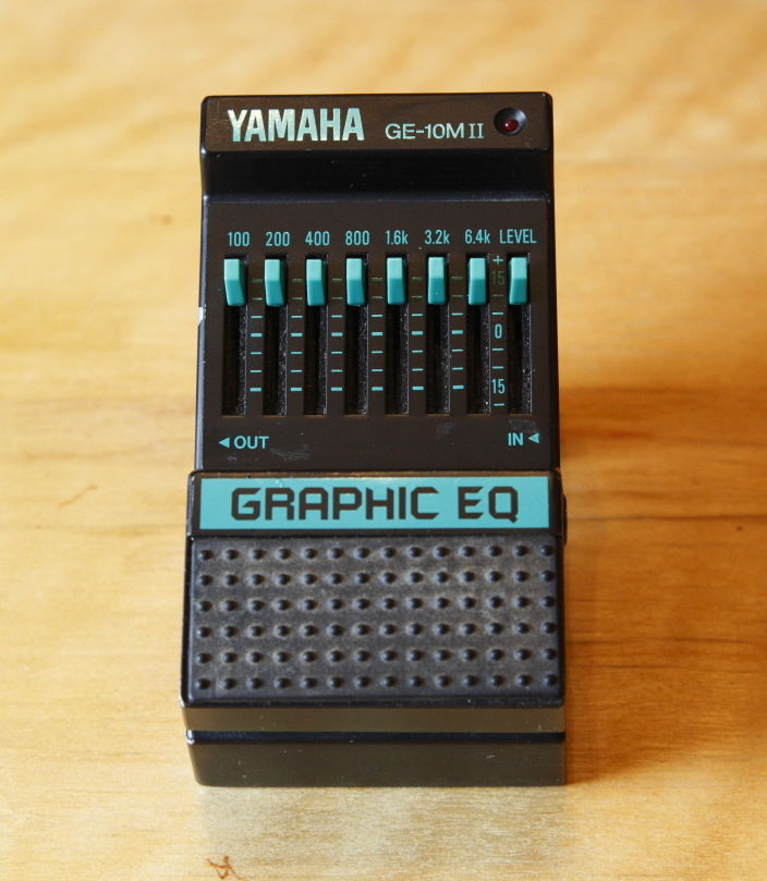 Yamaha GE-10MII Graphic EQ Effect Pedal — Rare vintage classic —