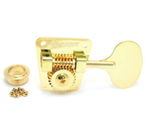 (4) Hipshot HB2 Lollipop Key Gold American Classic Bass Machine Heads