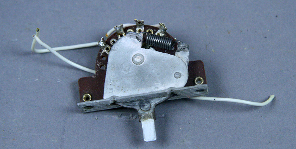 1966-1974 FENDER STRATOCASTER TELECASTER GUITAR VINTAGE 3 WAY SELECTOR SWITCH