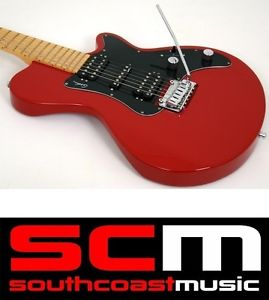 "GODIN SD22 TRANS RED ELECTRIC GUITAR MAPLE FRETBOARD BRAND NEW ""A"" STOCK"