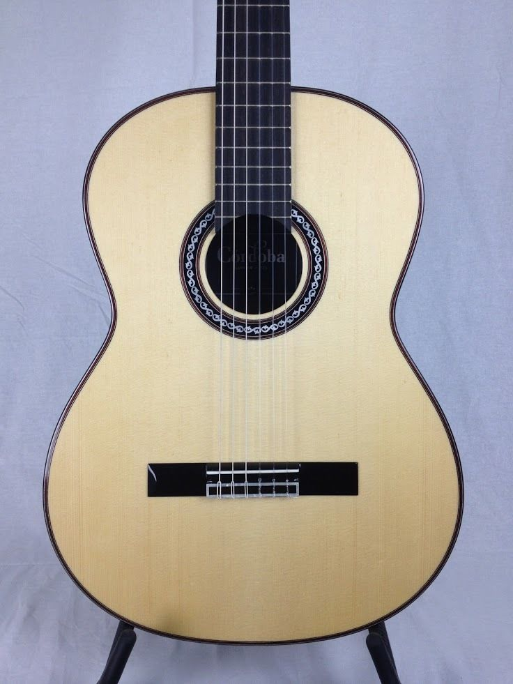 Cordoba Luthier C10 Spruce Rosewood Nylon String Classical Guitar w/ Gig Bag