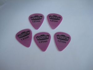 Older Vox Guitar Pick Lot of 5 Guitar Picks Lot #A 1,21MM