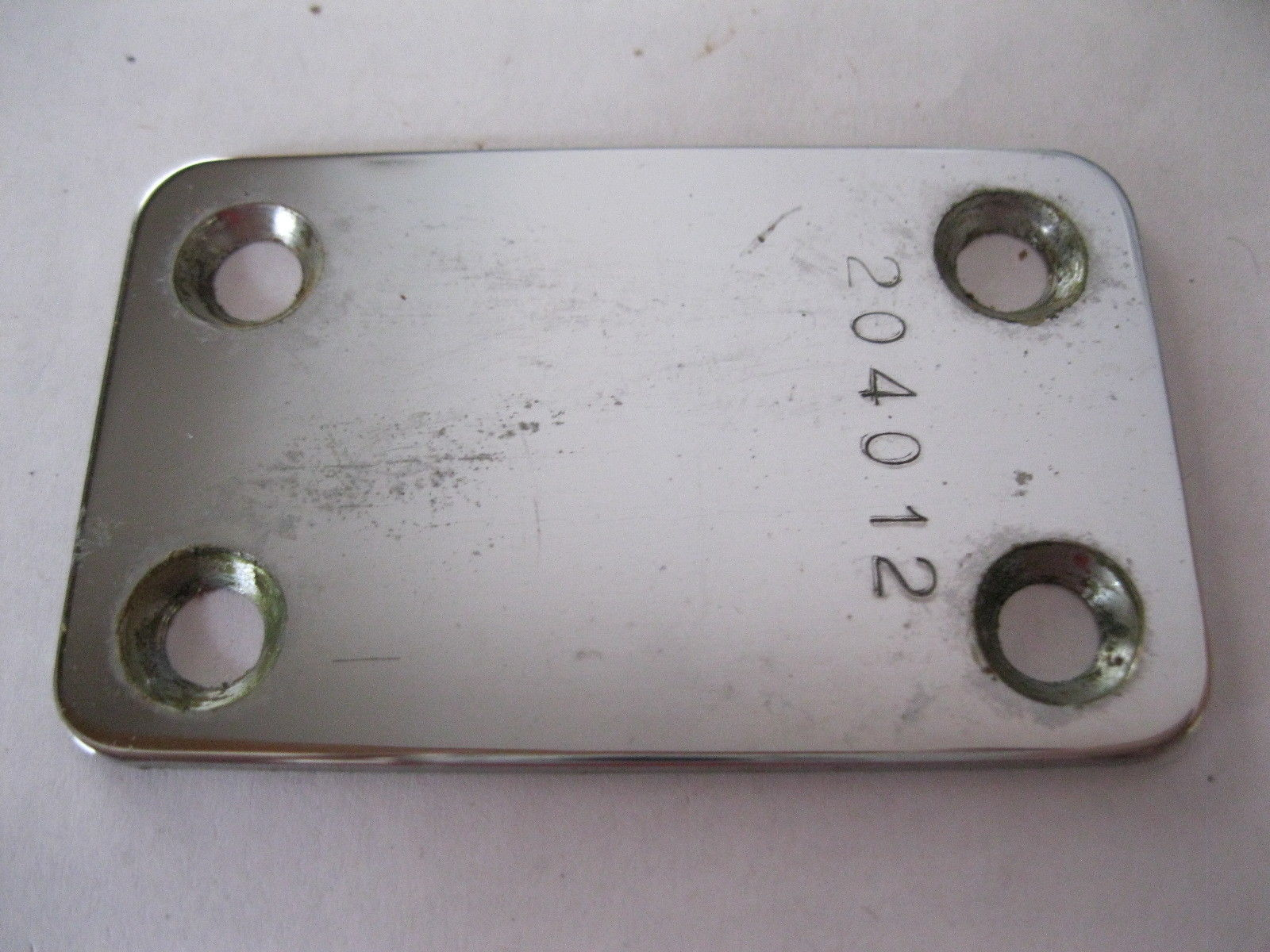 Vintage Vox NECK PLATE Phantom Mark Spitfire TearDrop Guitar