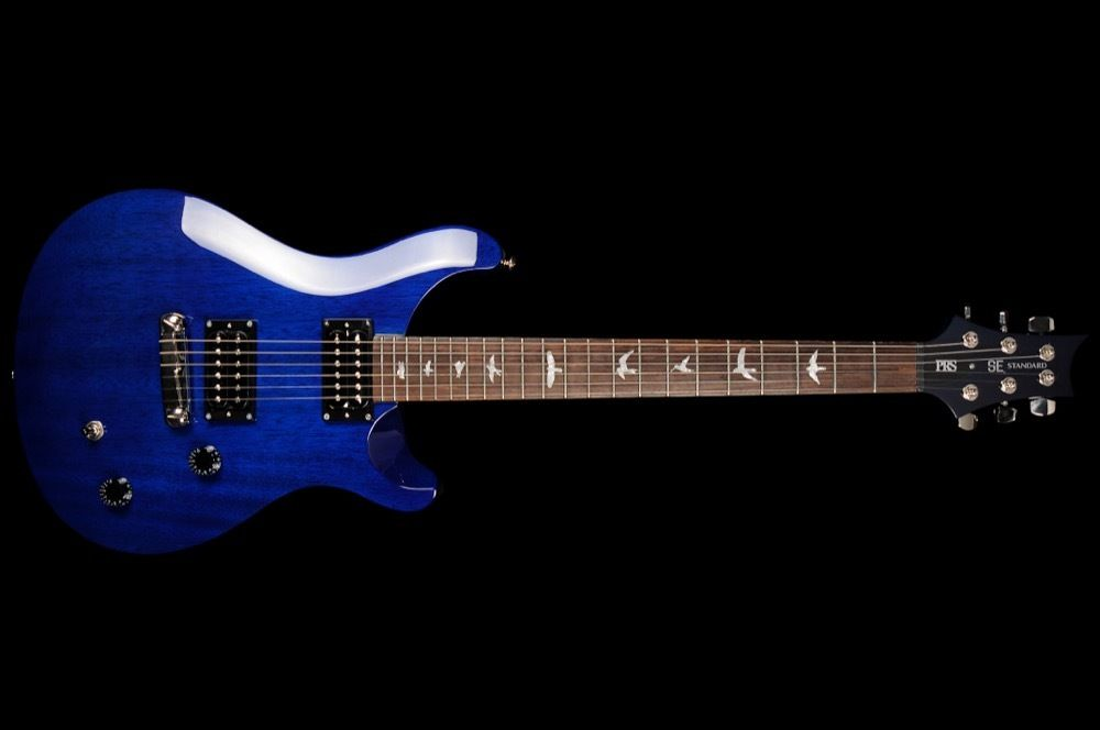 PRS SE Standard 22 in Translucent Blue