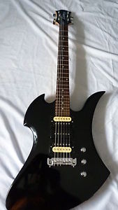 BC Rich Mockingbird de 2013 noire , customis茅e micros PRS SUPERBE GUITARE