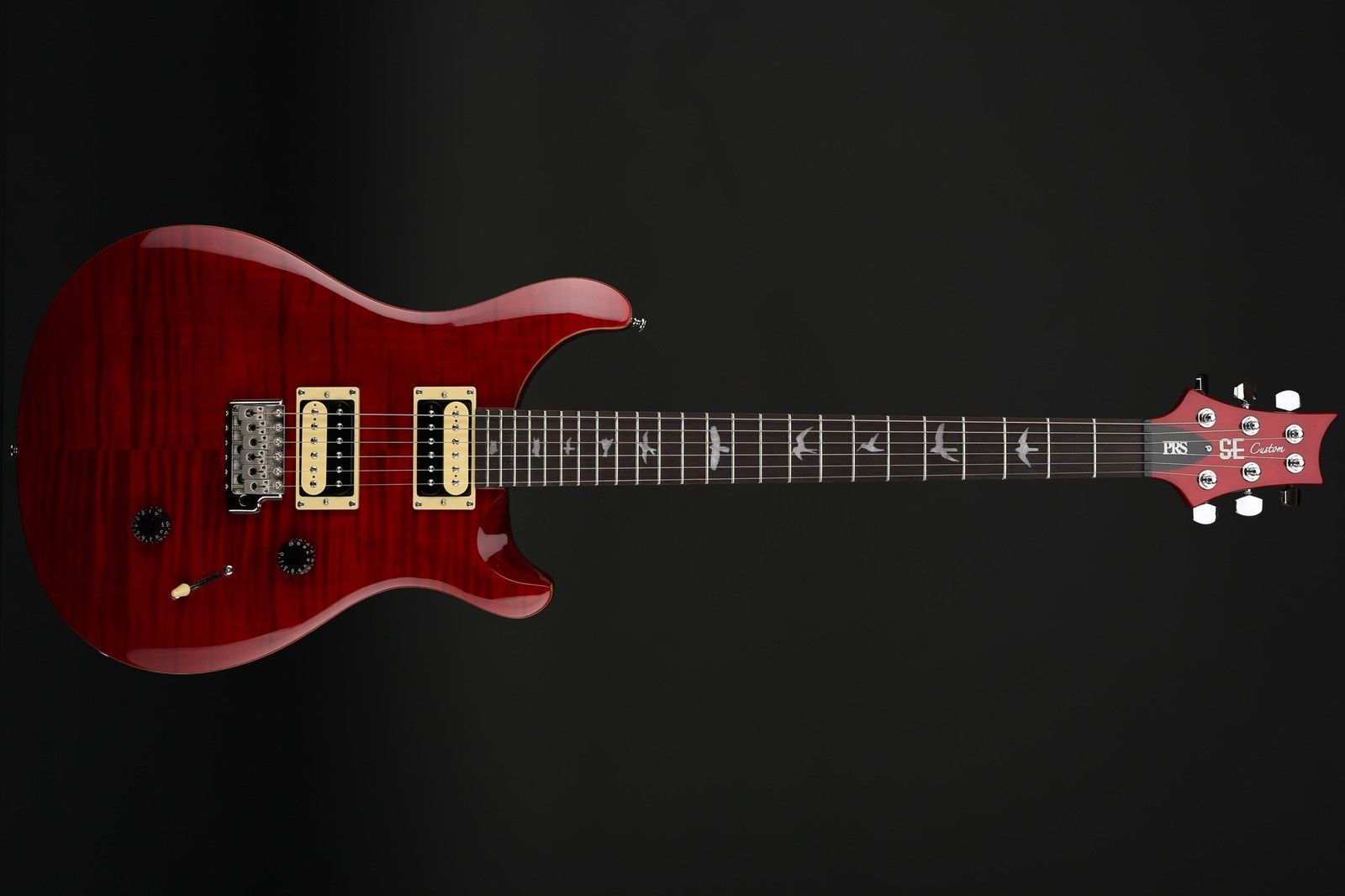 PRS SE Custom 24 in Black Cherry with Gigbag