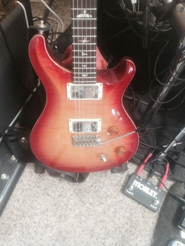 PRS Custom 22 w/OHS Case 2005 Model — Excellent Shape – Modified Electronics