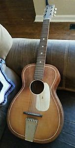 1920s or 1930 acoustic guitar