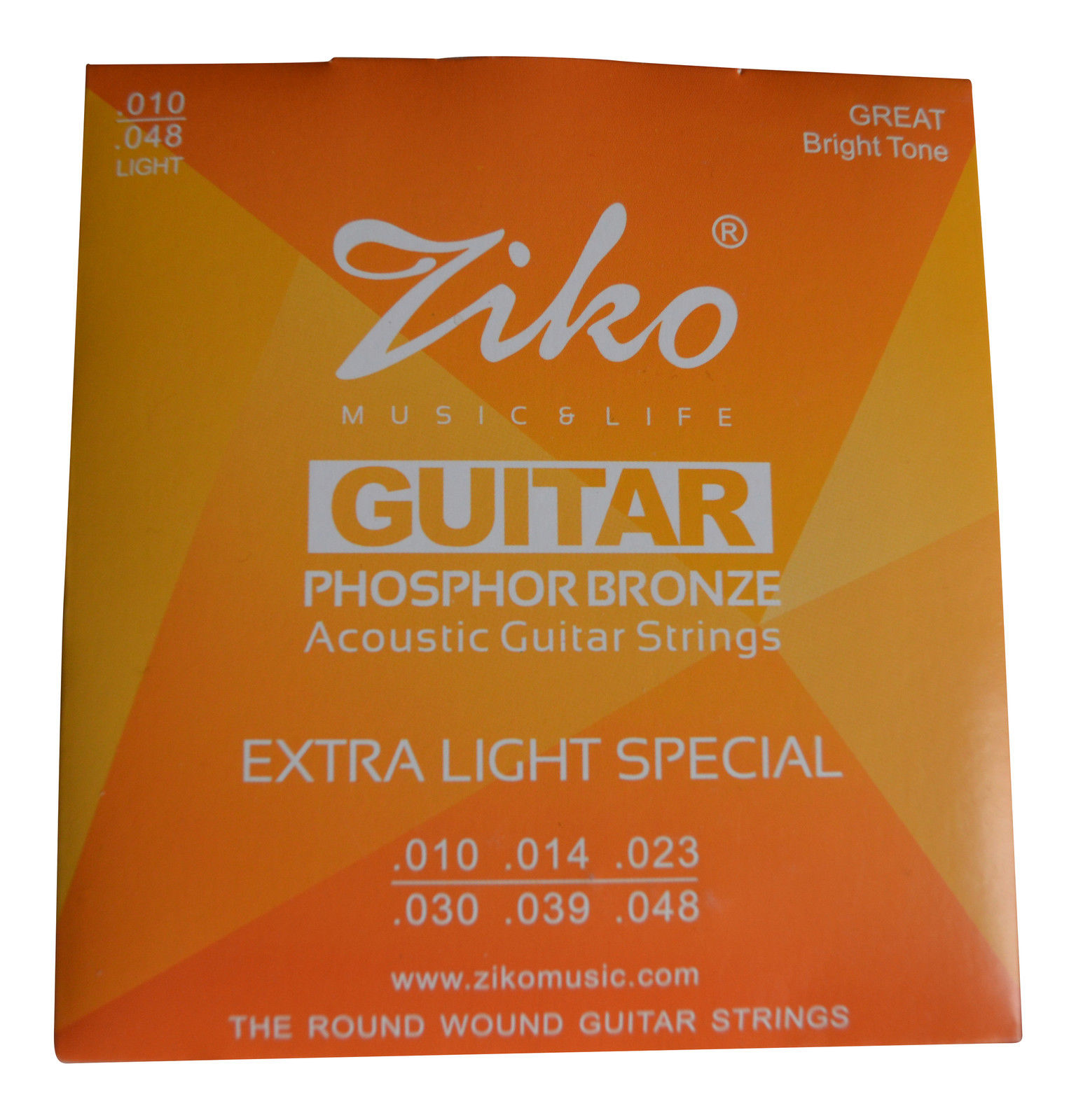 ZIKO High Quality Guitar Strings Acoustic, Electric, Bass