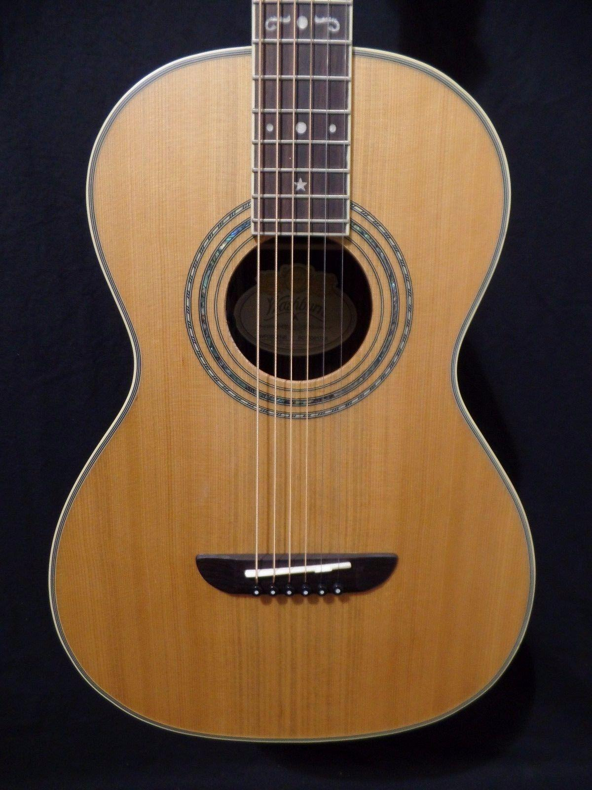 Washburn WP26SENS Parlor Acoustic Electric Guitar #1784