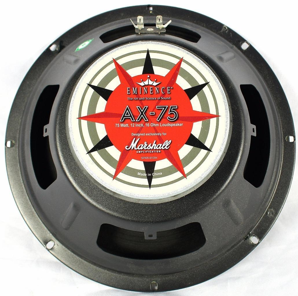 "Marshall Eminence AX-75 75w 16ohm 12"" Electric Guitar Amplifier Speaker Project"