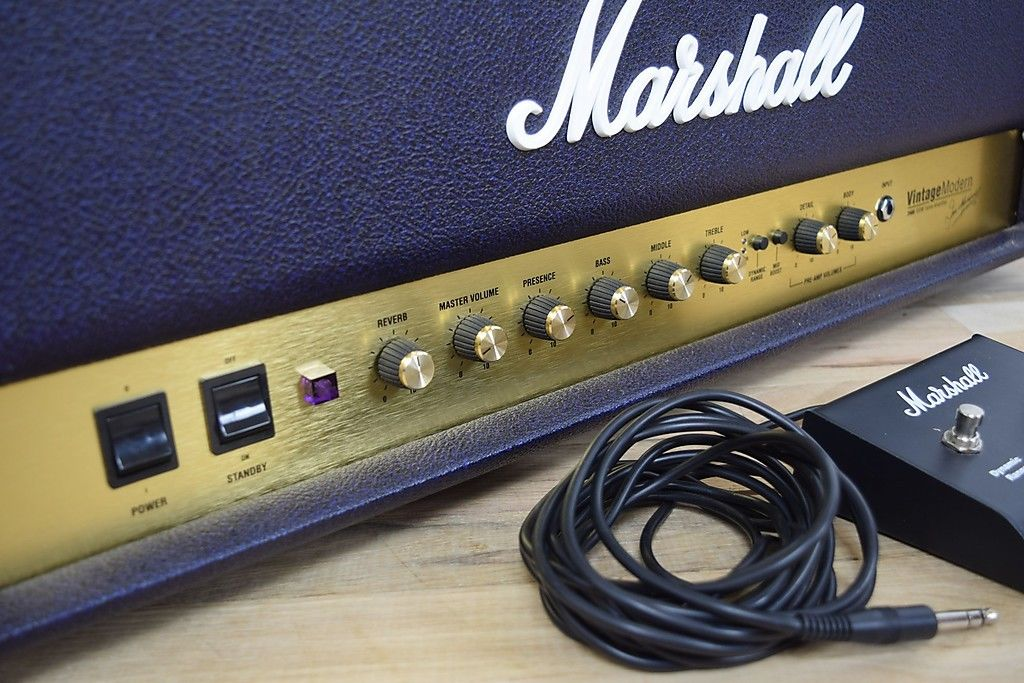 Marshall 2466 Vintage Modern guitar tube amp head near MINT!-used amp for sale