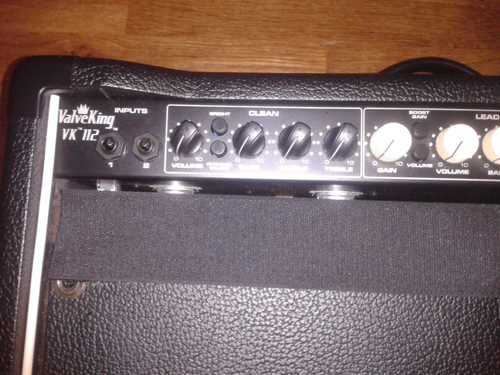 CUSTOM Peavey ValveKing 50 watt All-Tube Marshall Fender tone Guitar Head