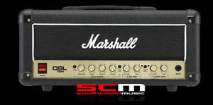 MARSHALL DSL15H 15 WATT AMP ALL VALVE HEAD DSL15 H GUITAR AMPLIFIER BRAND NEW
