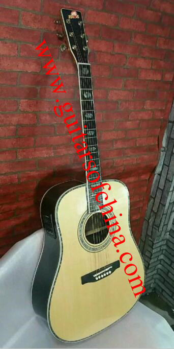 Custom Martin d 45s dreadnought acoustic guitar all massive
