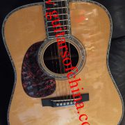 custom shop lefty Martin D45V acoustic guitar (1)