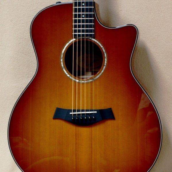 Chaylor 516ce acoustic guitar honeyburst 3