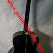 Chibson j 200 acoustic guitar all solid wood-black 2
