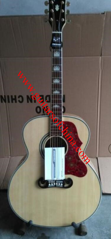 Chibson j 200 j-200 acoustic guitar natural
