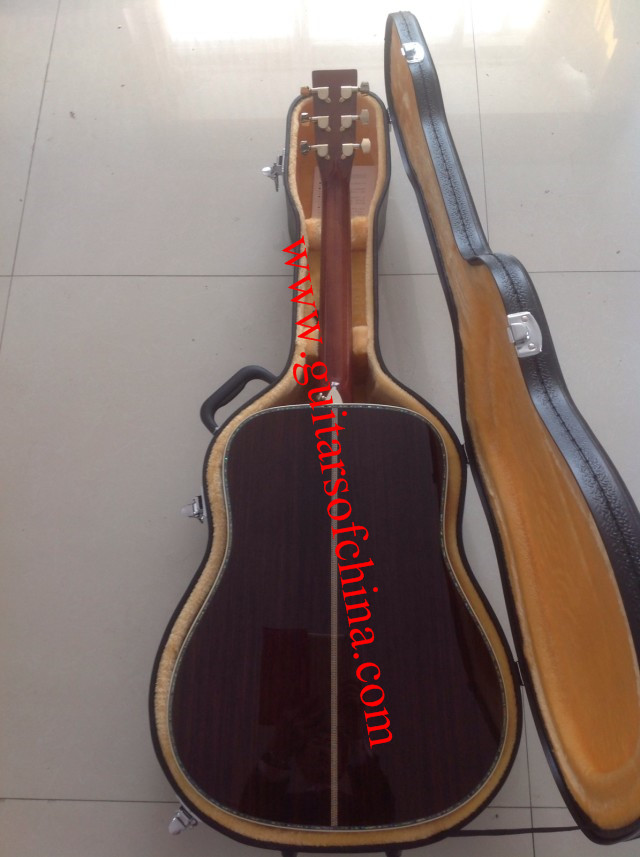 custom made sunburst martin d45s acoustic guitar d 45s guitar of china. Black Bedroom Furniture Sets. Home Design Ideas