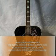 Chibson j200 acoustic guitar black (1)