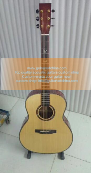 High-end china top quality custom made acoustic guitar
