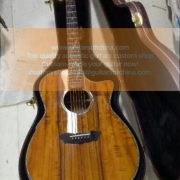 Highend all solid koa custom made acoustic guitar (1)