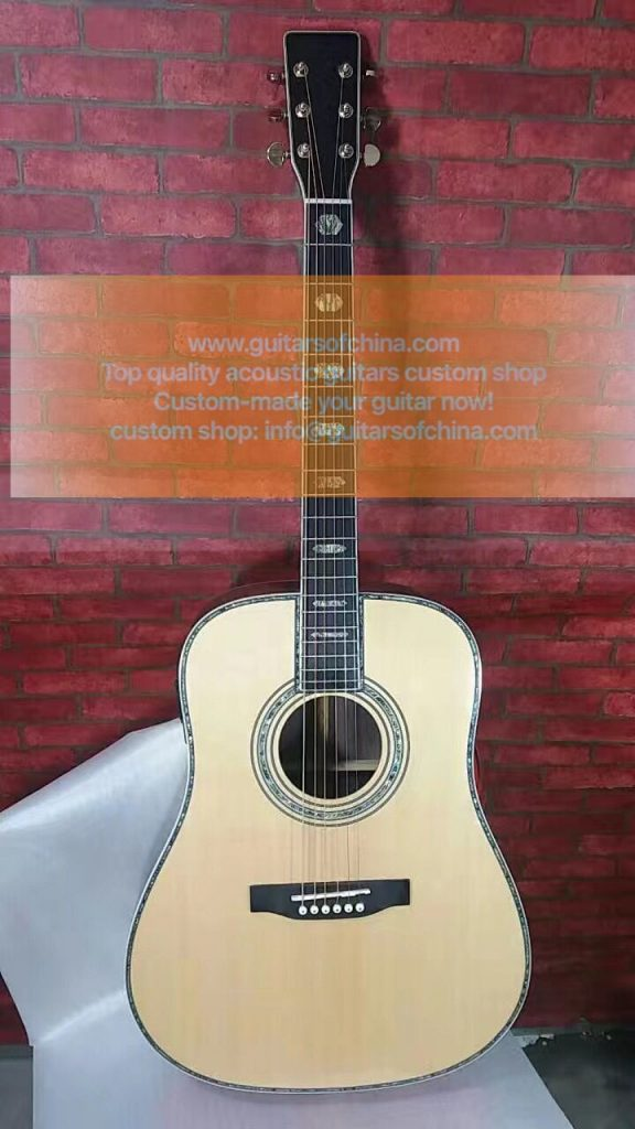 custom-made M D45 dreadnought acoustic guitar