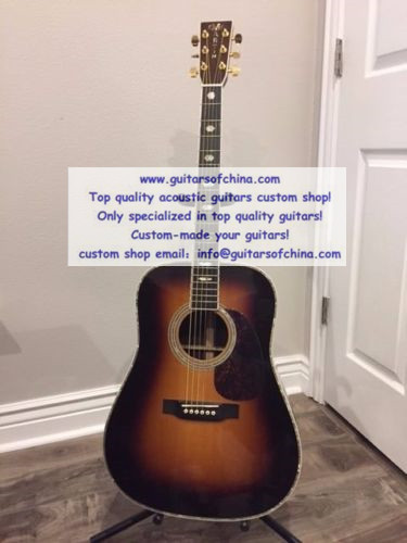 custom-made Martin D41 Sunburst Acoustic Guitar D-41