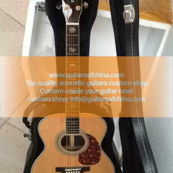 custom-made Martin j40 jumbo acoustic guitar (1)