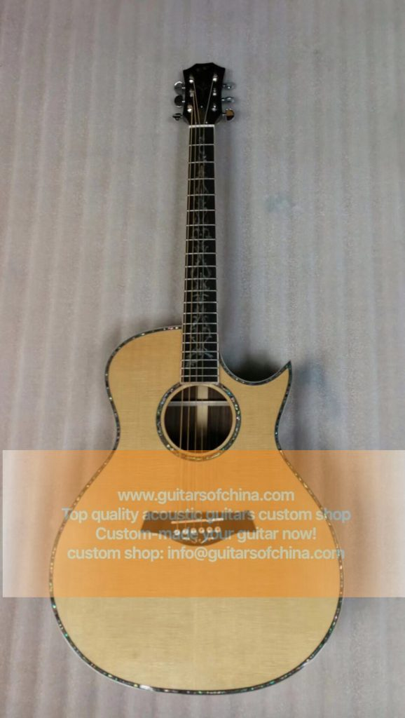 custom-made chaylor 914ce acoustic guitar all solid