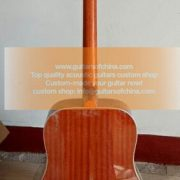 custom-made chibson hummingbird acoustic guitar 2