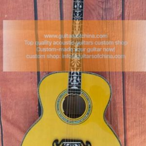 custom-made chibson j 200 sj-200 acoustic guitar (3)