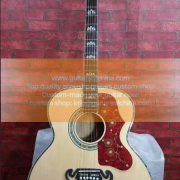 custom-made chibson sj200 orginal wood natural 1