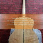 custom-made chibson sj200 orginal wood natural 2
