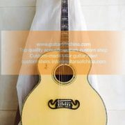 custom-made jumbo j 200 sj200 acoustic guitar all massive wood (3)
