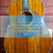 customized Martin D45 dreadnought solid koa luxurious D-45 (1)