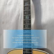 customized chibson sj-200 sj200 super jumbo type acoustic guitar all solid 4