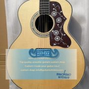 customized chibson sj-200 sj200 super jumbo type acoustic guitar all solid 6