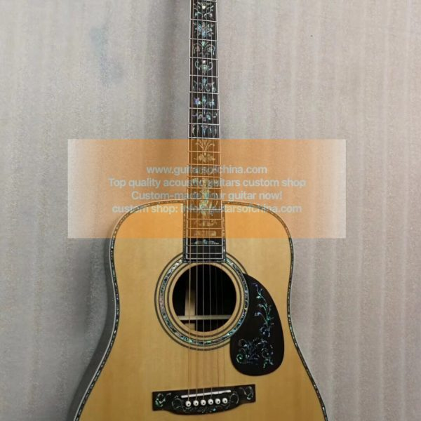 top quality custom-made Martin D 45 deluxe abalone inlays (1)